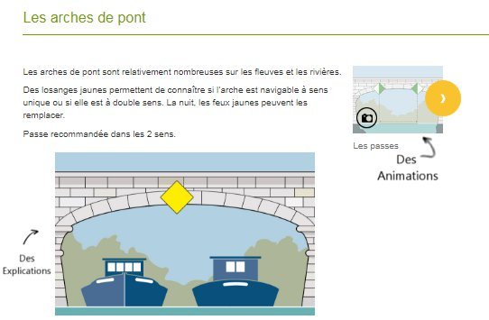 pass rousseau cours fluvial animations