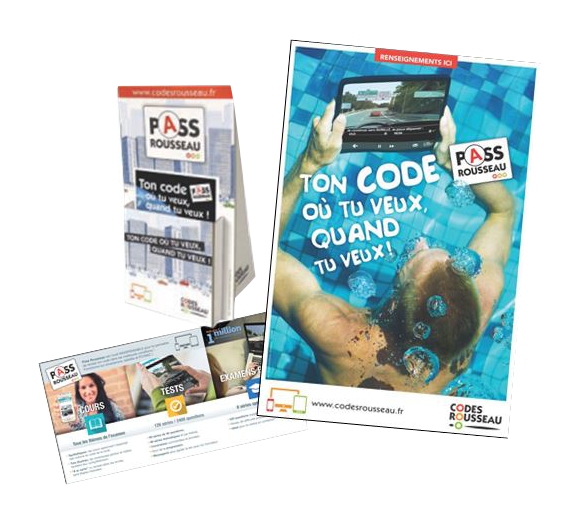 pass rousseau kit complet communication