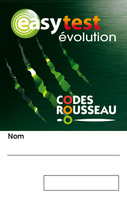 EASYTEST EVOLUTION : BADGE D'IDENTIFICATION