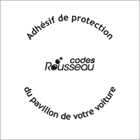 ADHESIF DE PROTECTION CARROSSERIE